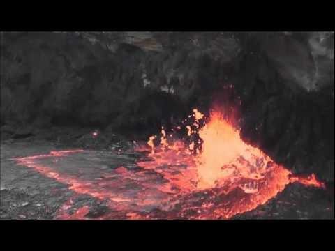 エルタ・アレ火山(溶岩湖(午前の部)).wmv