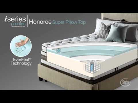 Serta Iseries Profiles Honoree Super Pillow Top Mattress National Video