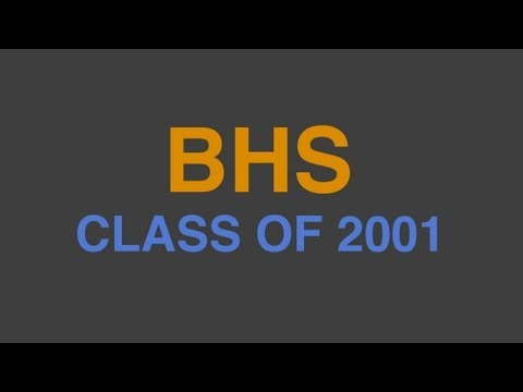 Senior Video - Beech High School Class of 2001