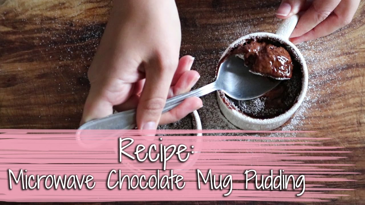 Recipe: Microwave Chocolate Mug Pudding | 9Lives