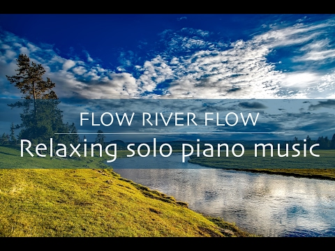 Instrumental relaxing piano music - Beautiful relaxing music peaceful piano with water sounds