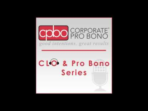 CLO & Pro Bono Series - Craig Silliman, Verizon Communications Inc.