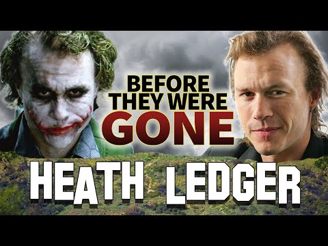 HEATH LEDGER  Before They Were GONE