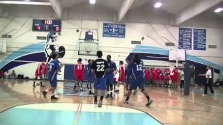 LA Jordan vs Mater Dei (Sylmar Tournament Final)