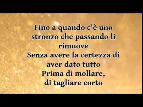 FRANCESCO RENGA - IL MIO GIORNO PIU' BELLO NEL MONDO lyrics