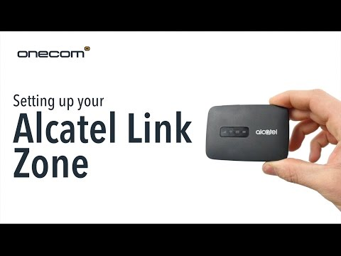 Setting Up Your Alcatel Link Zone - YouTube