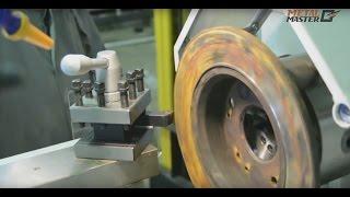 Как проточить тормозной диск на токарном станке
