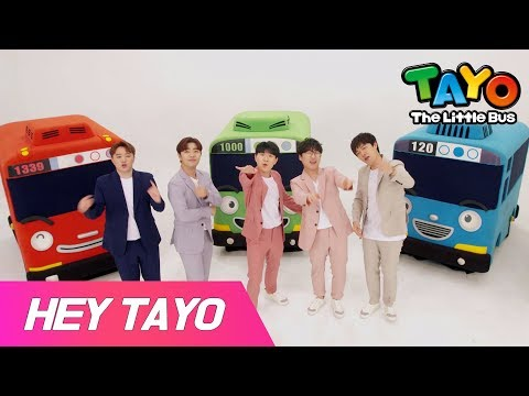 Tayo Opening Theme Song X EXIT L Tayo Collaboration Project #2 L #HeyTayo L Tayo The Little Bus