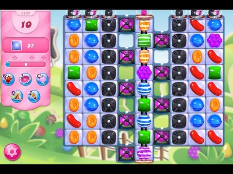 Candy Crush Saga Level 3164 No Boosters