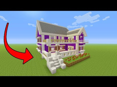 Minecraft Tutorial: How To Make A Suburban House - 12