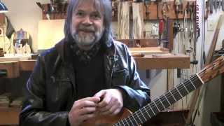 Beppe Gambetta Visits Stansell Guitars
