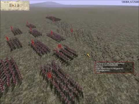 Rome Total War Online Battle #1833: Rome Vs Armenia