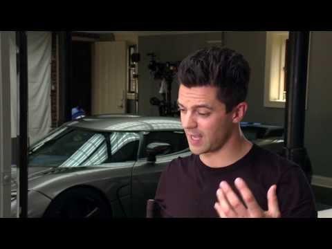 Need For Speed - Cast Interview Aaron Paul Steven Spielberg