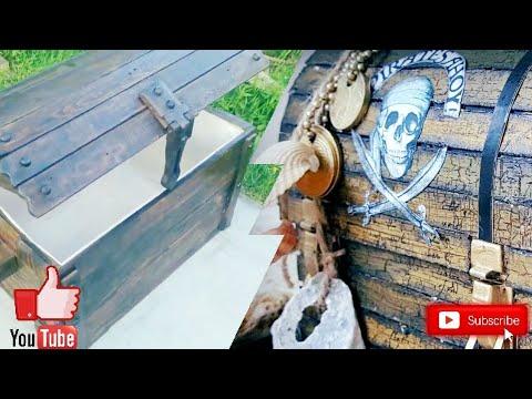 Пиратский сундук под старину своими руками