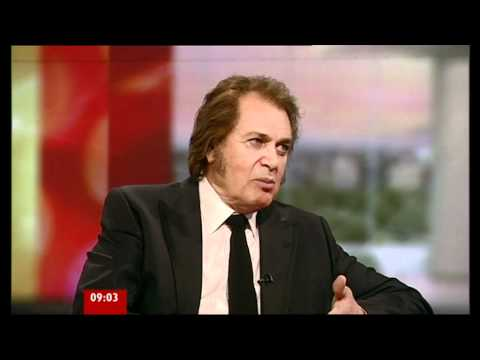 Engelbert Humperdinck on BBC Breakfast