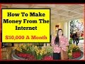 """""""How To Make Money On The Internet"""" Earn $300 A Day Easy!"""