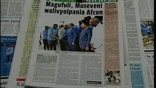 Asubuhi Njema Uchambuzi wa Magazeti  23.10.2018