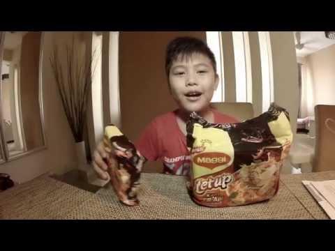 MAGGI Letup Kari Cili Api Challenge - Budak 9 Tahun dicabar makan