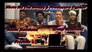 Non Kpop Fans React To - Show Me The Money 6 Producer Cypher - REACTION!! Sushi Bandana & Friends!!