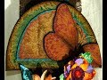 Flower Storage & Display Solution - Art Nouveau Style Hanger