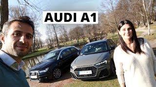 Sylwia i jej ukochana Audi A1