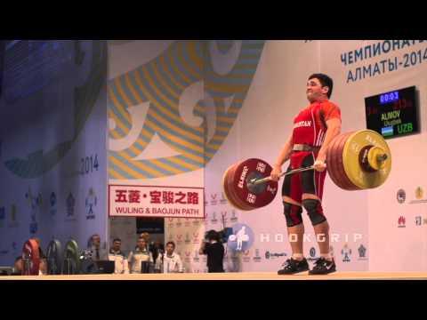 Ulugbek Alimov (85, Uzbekistan) - 213kg Clean