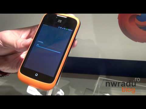 The features of Firefox OS for smartphones