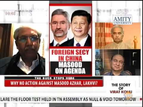 NDTV 24x7 - Pak Crackdown on Hafeez Saeed - Forced or a Farce? (featuring G Parthasarathy)
