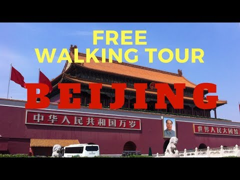 Sightseeing with Beijing's Free Walking Tour