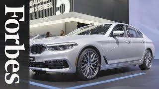 BMW Debuts New 5-Series