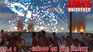 Let's Play Jaws Unleashed Ep.11 BLOOD ON THE BEACH