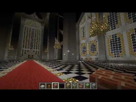 Epic Minecraft Town Part 8 The Throne Room Is Completed