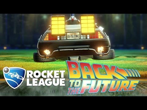 Back to the Future DLC Pack Trailer - Rocket League