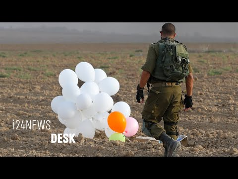 Gaza-Israel Tensions Reignited with Balloons and Airstrikes