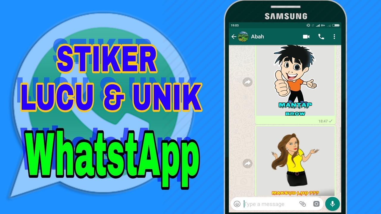Cara Membuat Stiker Keren Dan Unik Di Whatsapp