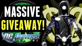 DCUO: MASSIVE GIVEAWAY!!