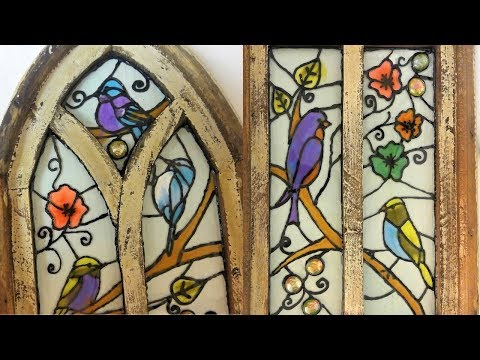 """#61- Creating """"Stained Glass"""" With Resin and the May 2019 Giveaway!"""