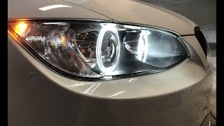 Installing LUX H8 180 LED Bulbs: E92 M3