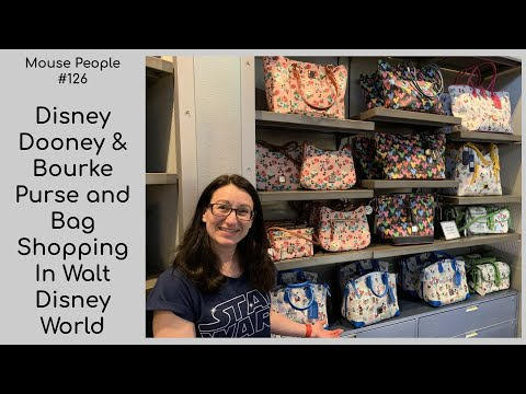 Disney Dooney & Bourke Purse And Bag Shopping In Walt Disney World #126