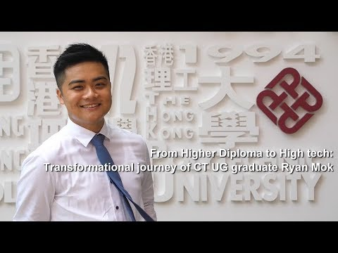 From Higher Diploma to High tech: Transformational journey of CT UG graduate Ryan Mok