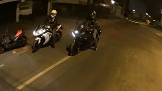 yamaha r3 vs kawasaki ninja 300 vs ktm duke 390 drag race