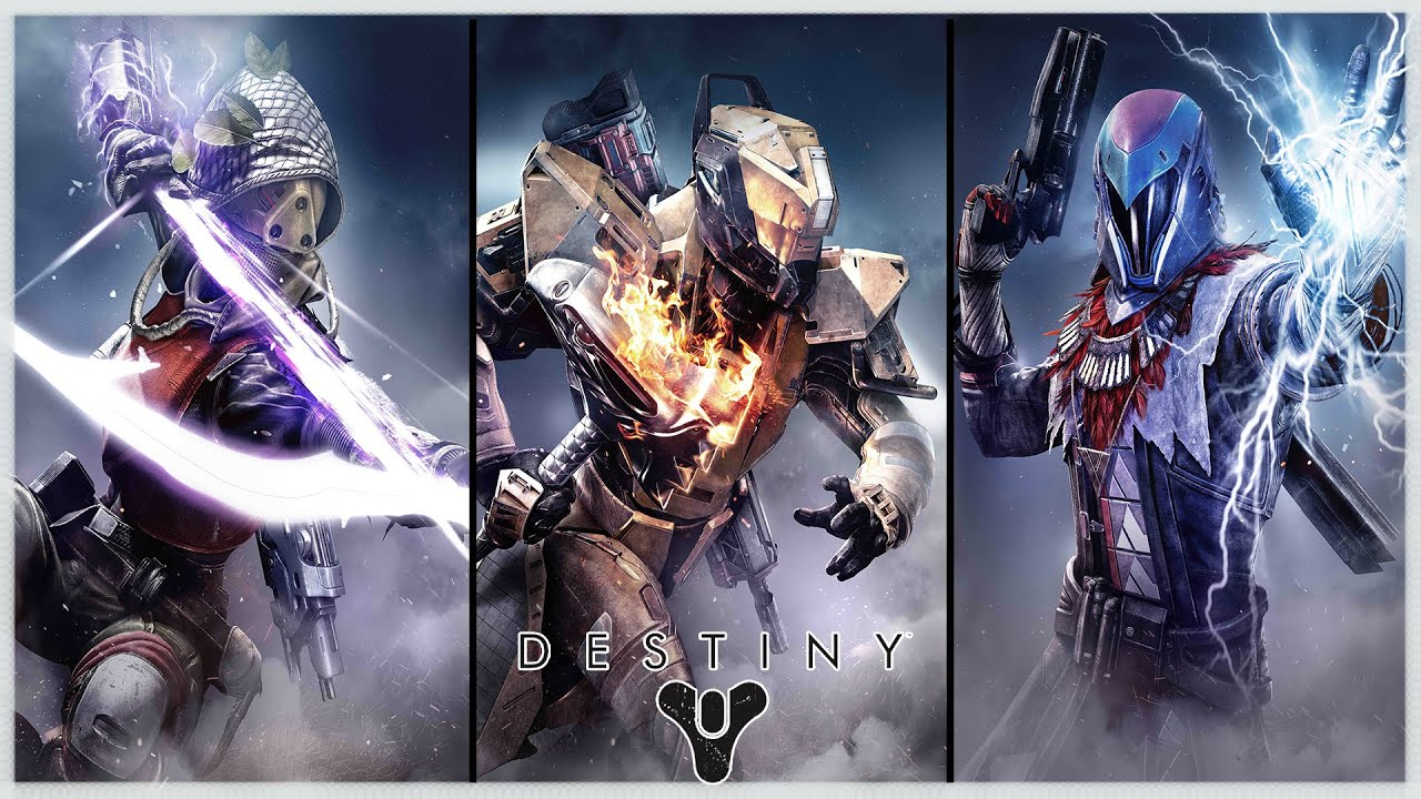 Destiny Hunter Titan Warlock Epic Subclass Cutscene Nightstalker Sunbreaker Stormcaller Youtube