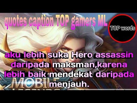 Kata Kata Gamers Ml Kekinian 2019 Youtube