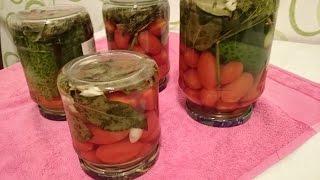 Маринованные огурцы и помидоры Рецепт секрета вкусного приготовления заготовки на зиму