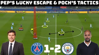 Tactical Analysis : PSG 1 - 2 Manchester City | Pochettino & Guardiola's Tactical Battle |