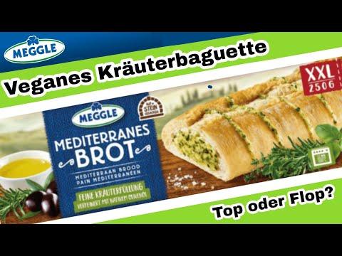 Veganes Kräuterbaguette Von Meggle - Wie Es Schmeckt Und Wo Man Es Kaufen Kann - Alle Infos + Test