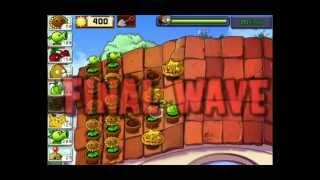 Plants VS Zombies HD! Уровень 5и1! На крыше! Серия 43! Растения Против Зомби