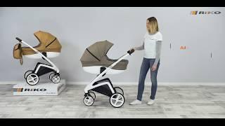 видео обзор коляски RIKO XD (Рико ИксДи) PANDAKIDS.COM.UA