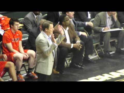 Former Chicago Bulls Head Coach Tim Floyd - UTEP vs Charlotte