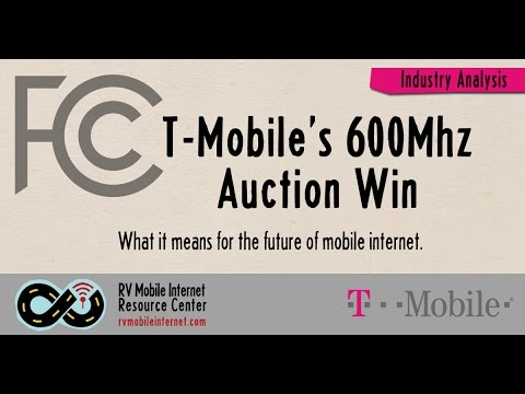T-Mobile's 600Mhz FCC Auction Win - What Does it Mean for the Future of Mobile Internet?